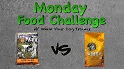 Taste of the Wild vs IAMS: Monday food mash-up