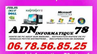 REPARATEUR DE PC A DOMICILE - RECUPERATION DE DONNEE - WINDOWS 7- SUPPRESION VIRUS