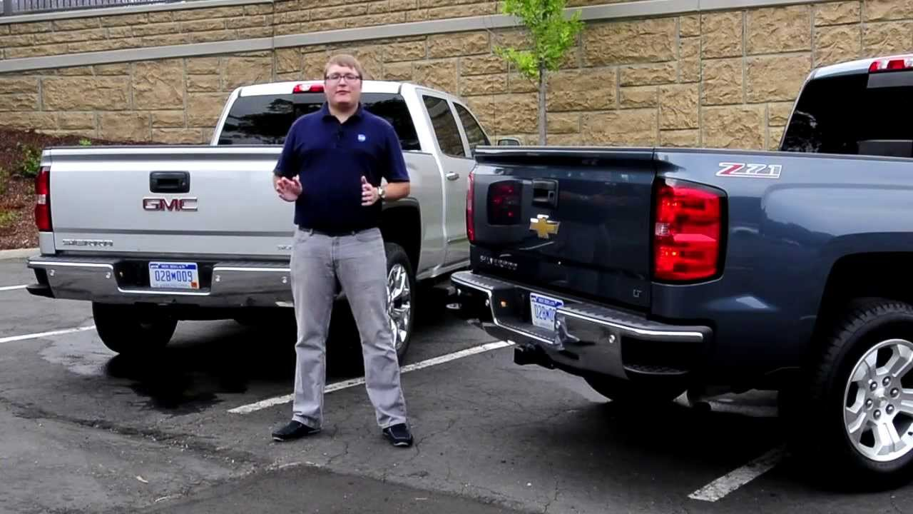 IHS Auto Reviews: 2014 GMC Sierra SLT & Chevrolet ...
