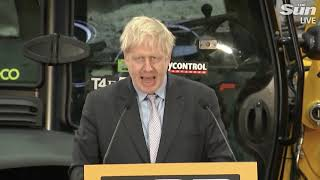 Boris Johnson: \