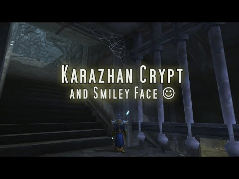 Karazhan Crypt & Smiley Face - WoW Classic Exploration Patch 1.13.4
