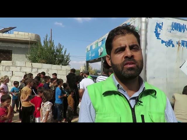 تقرير عن عمل مطبخ عطاء المتنقل في ريف إدلب