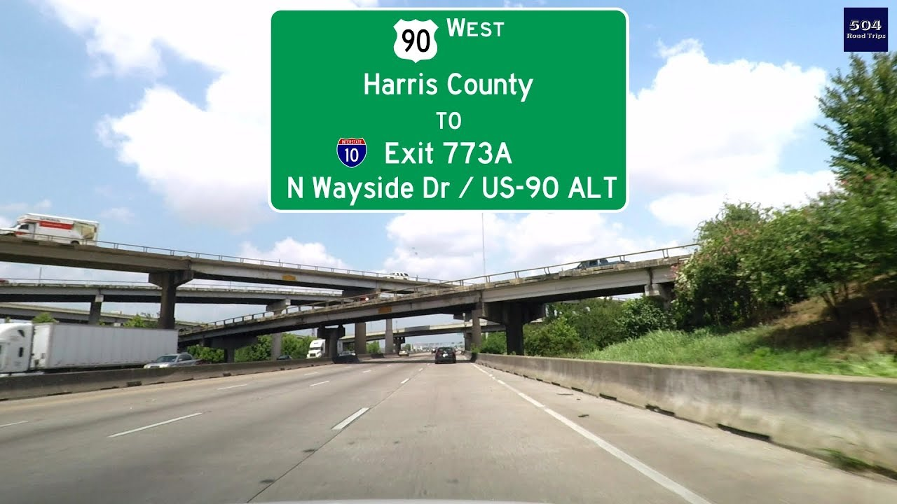 Road Trip #291 - US-90 West - Harris County Line to I-10 Exit 773A: Highway Map Interstate on interstate 27 highway map, interstate 40 map, eastern interstate highway map, hwy 90 map, i-70 highway map, us interstate highway map, interstate 81 highway map, i-35 highway map, interstate 75 highway map, national highway system map, interstate 71 highway map, interstate highway system, interstate 95 highway map, interstate 80 highway map, interstate 55 highway map, i-75 highway map, interstate 70 map, interstate 10 highway map, pa interstate highway map, united states interstate and highway map,
