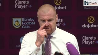 Dyche reveals Barton substitute confusion