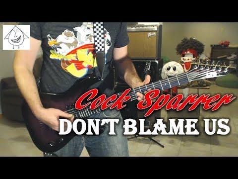 Cock Sparrer - Don't Blame Us - Guitar Cover (Tab In Description!)