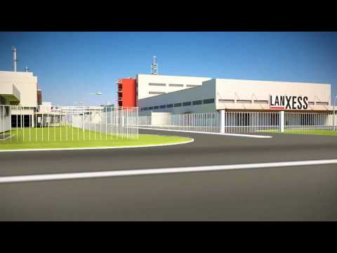 LANXESS Singapore Butyl Rubber Plant