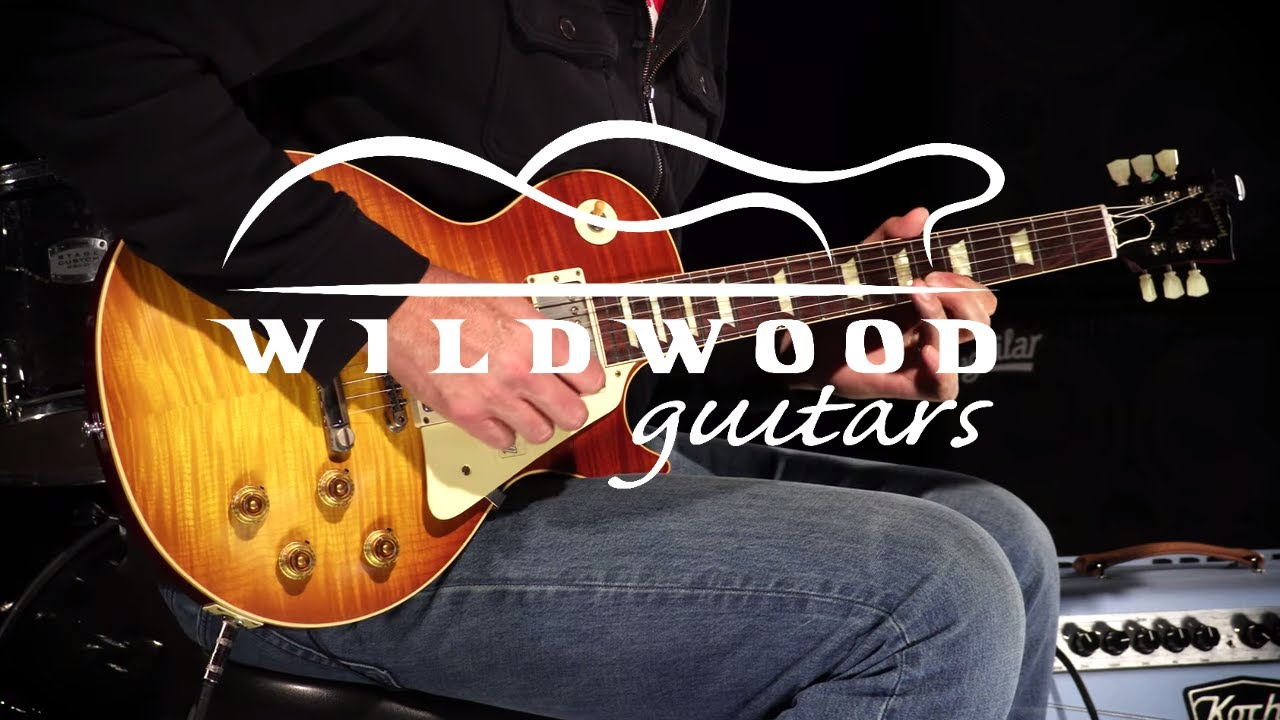 3dbe763c31 Gibson Custom Shop 60th Anniversary 1959 Les Paul Standard • SN: 99110.  Wildwood Guitars