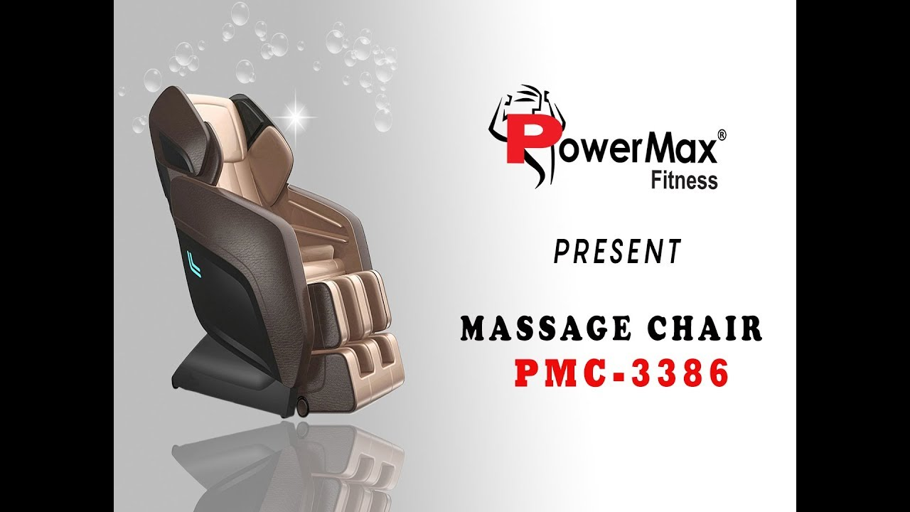 INDULGE PMC3386L L shape Zero Gravity Massage Chair by Powermax