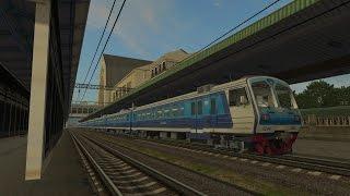 Пригородный поезд № 6702 Киев-Пасс. - Мироновка(, 2015-11-08T13:17:14.000Z)