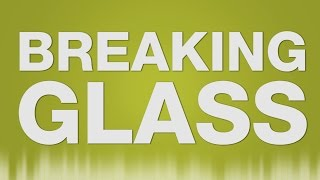 Breaking Glass SOUND EFFECT - Zerbrechendes Glas Weinglas SOUND