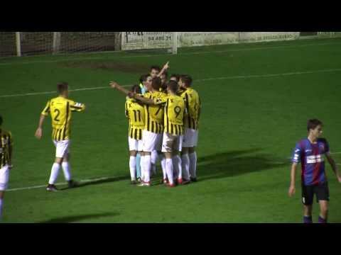Segunda B 2016-17. Resumen SD Leioa 2 - Barakaldo CF 0