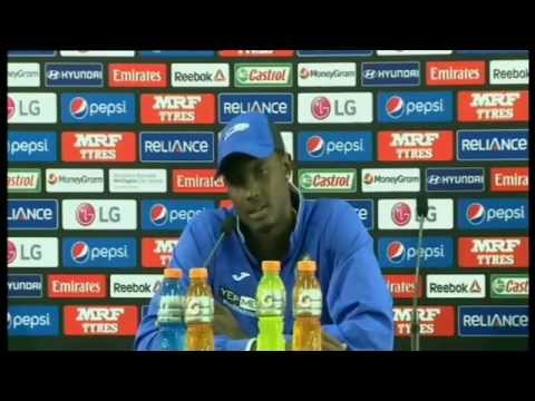 QF4 Live Post Match Press Conference - New Zealand v West Indies