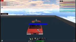 Admin car on roblox build and race