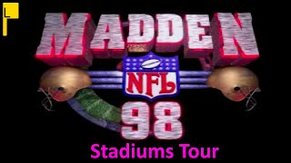 Madden NFL 98 All Stadiums (4K60FPS)