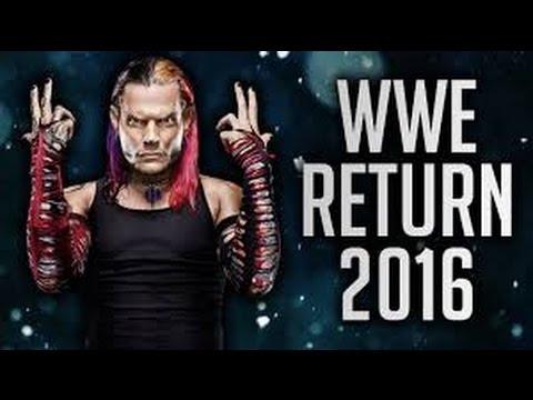 BREAKING NEWS On Jeff Hardy's WWE Return In 2016 - Full Backstage Details Exposed