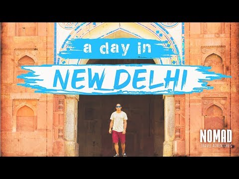 A DAY IN DELHI INDIA TRAVEL VLOG  Golden Triangle Tour