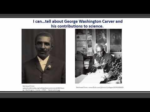 Social Studies 1st Grade George Washington Carver H1 G1c CG1 Content Video