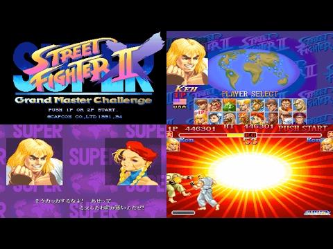 [2/5] Ken - SUPER STREET FIGHTER II X(Arcade,JP,LV1,EASIEST) [3150x1772,60p]