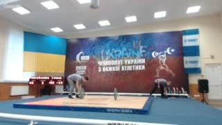 Чемпіонат України до 13 та до 15 років. В/к 63, +63 (поштовх), 34, 38, 41 кг