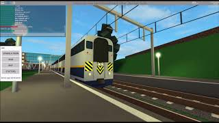 ROBLOX - Terminal Railways - [1] - Railfanning with the new California Commuter!