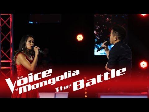 "Khulan vs Bayarsaikhan - ""You and me"" - The Battle - The Voice of Mongolia 2018"