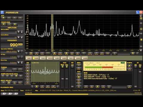 Radio Guama (Cuba) 990kHz 11/25/13 17:59~UTC - Complete Station Announcement