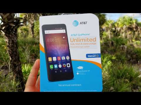 Huawei Ascend XT | Walmart | AT&T | UnBoxing