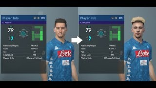 PES 2019 facepack part 2 - Serie A ~100 real faces added (PC)