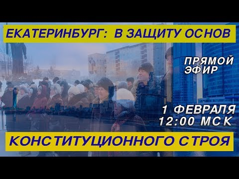 Екатеринбург: «В защиту