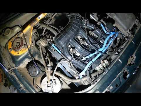 Первый пуск двигателя ВАЗ21124 после ремонта ГБЦ