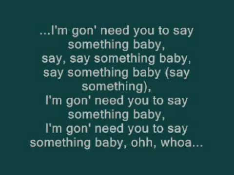 Timbaland Feat Drake  Say Something lyrics