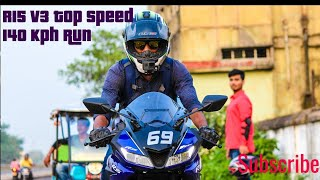 R15 V3 140 Kph Run|Value for money|Top speed Run video|NCS music