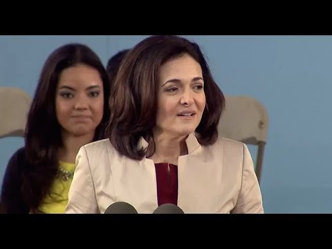 Facebook COO Sheryl Sandberg Commencement Speech | Harvard C
