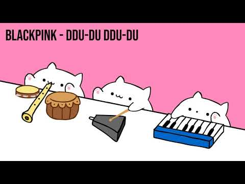 "Bongo Cat - BLACKPINK ""DDU-DU DDU-DU"" (K-POP)"