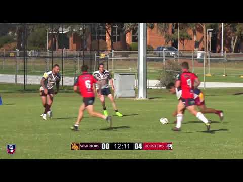 R02   Warriors vs Roosters