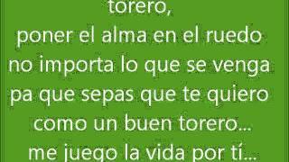 Torero (Chayanne)-Letra