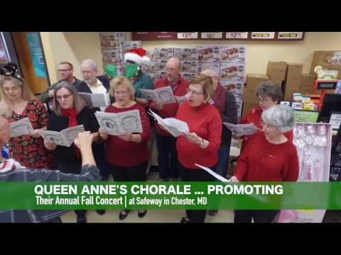 You also missed LIVE holiday music at the Safeway in Chester, Maryland