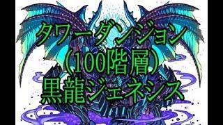 (タワーダンジョン100階層)黒龍ジェネシスの2018年版攻略動画です!!