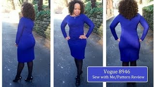 Twiluv 70: Vogue 8946 Sewing Pattern Review