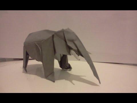 Origami elephant (satoshi kamiya)