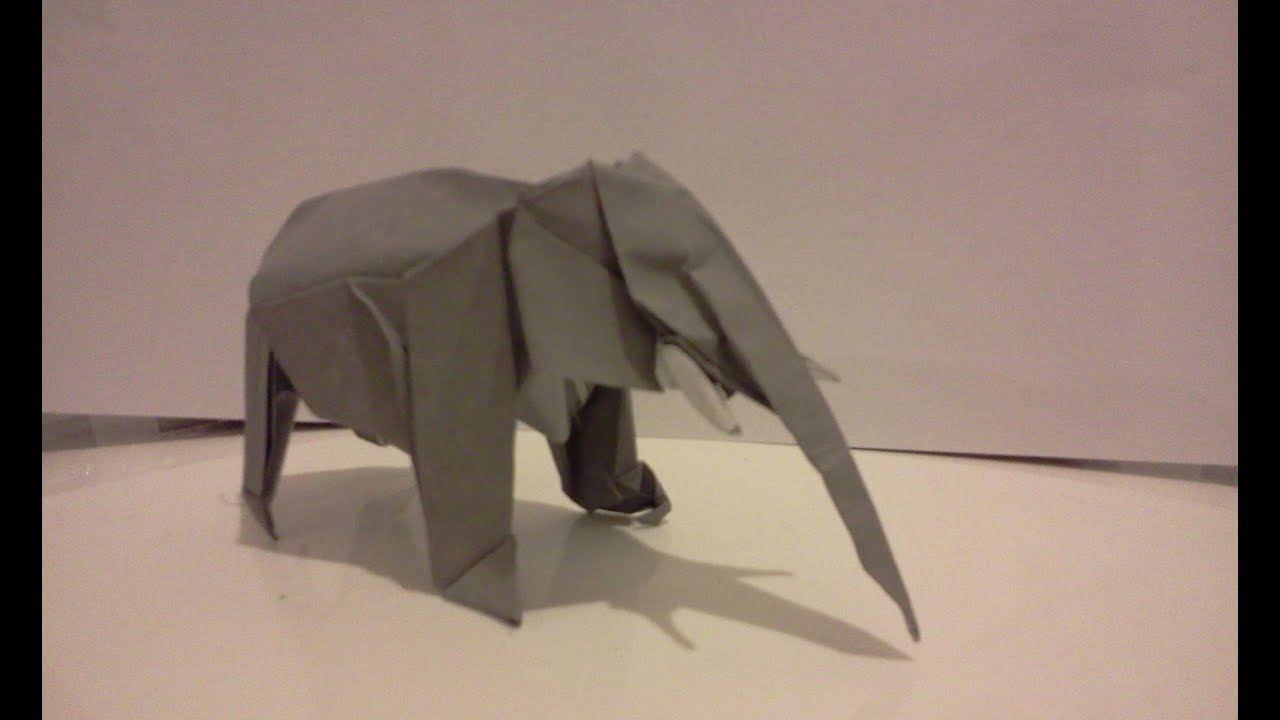 Dollar Bill Origami ELEPHANT - Great Gift from VincentTheArtist | 720x1280