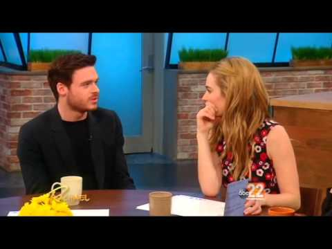 'Cinderella' Stars Lily James And Richard Madden On The Rachael Ray Show (Mar 13th, 2015)