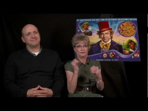 Willy Wonka  2011 With Denise Nickerson Violet & Paris Themmen Mike