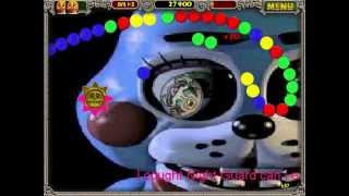 FNAF IN ZUMA DELUXE 2! White Balls Turn Black Balls Stage 1