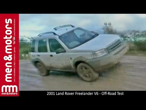 2001 Land Rover Freelander V6 - Off-Road Test