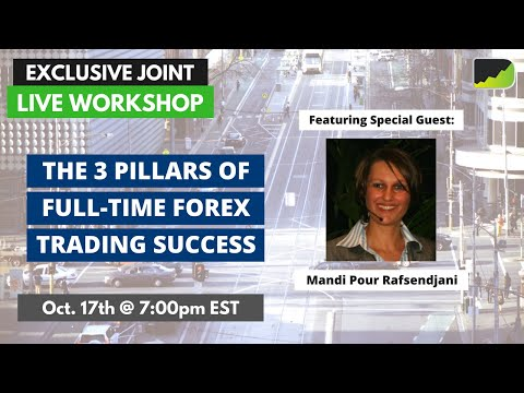 LIVE WORKSHOP: The 3 Pillars To Full-Time Forex Trading Success