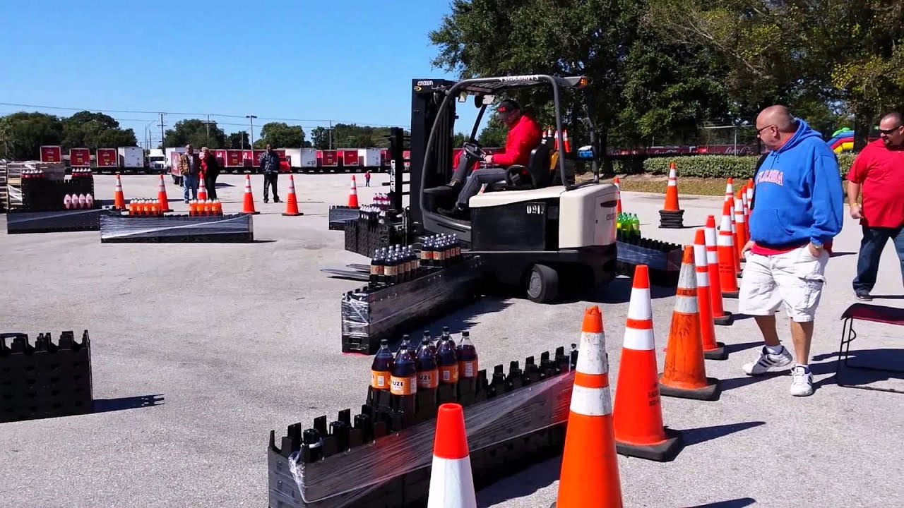 2014 forklift competition