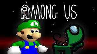 Luigi Plays AMOGUS but if I DIE the video ENDS