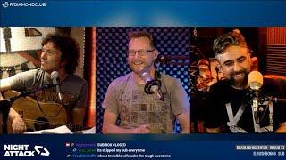Night Attack #197: Brian Justin Mike Night Radio Program Comedy Sex Product Waterproof (w/ MikeTV)