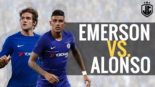 Emerson Palmieri vs Marcos Alonso   Defending Battle for No1  201718
